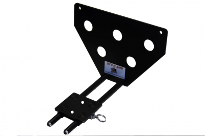 StoNSho - Sto N Sho Quick Release Front License Plate Bracket: Jeep Grand Cherokee SRT 2012 - 2016 - Image 3