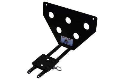 StoNSho - Sto N Sho Quick Release Front License Plate Bracket: Jeep Grand Cherokee High Altitude & Summit 2018 - 2020 - Image 3