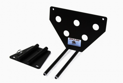StoNSho - Sto N Sho Quick Release Front License Plate Bracket: Chrysler 300 SRT8 2006 - 2010 - Image 2