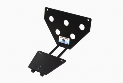 Chrysler 300 Exterior Parts - Chrysler 300 License Bracket - StoNSho - Sto N Sho Quick Release Front License Plate Bracket: Chrysler 300 SRT8 2006 - 2010