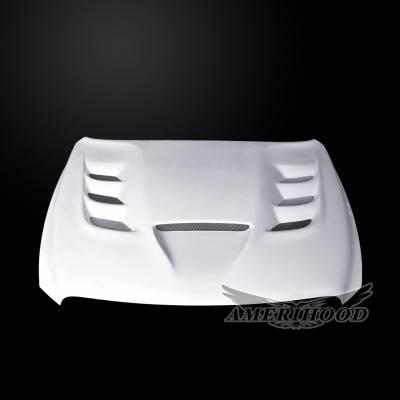 Amerihood - Amerihood VIP Functional Ram Air Hood: Dodge Ram 1500 2009 - 2018 - Image 2