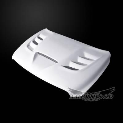 Amerihood - Amerihood VIP Functional Ram Air Hood: Dodge Ram 1500 2009 - 2018