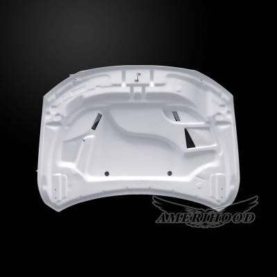 Amerihood - Amerihood Hellcat Functional Ram Air Hood: Dodge Durango 2011 - 2020 - Image 5
