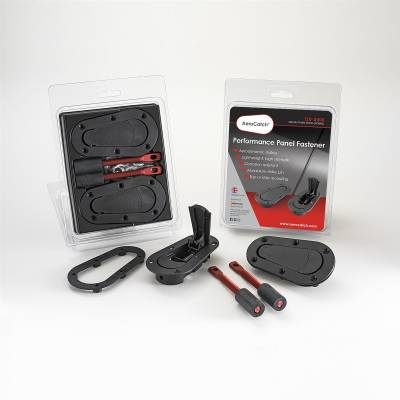 AeroCatch - AeroCatch Flush Hood Pin and Latch Kit (Universal) BLACK - Image 2