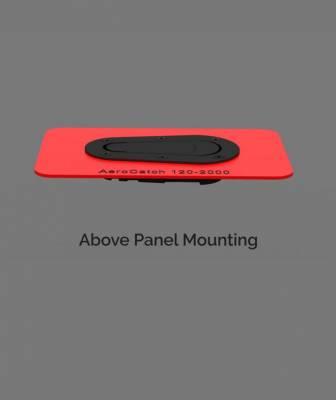 AeroCatch - AeroCatch Flush Hood Pin and Latch Kit (Universal) BLACK - Image 5