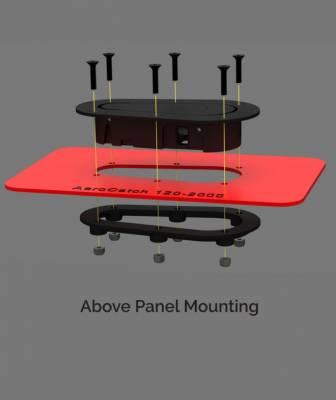 AeroCatch - AeroCatch Flush Hood Pin and Latch Kit (Universal) BLACK - Image 4