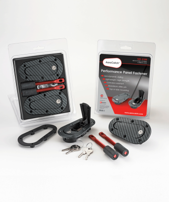 AeroCatch - AeroCatch Flush Hood Pin and Latch Kit (Universal) CARBON FIBER LOOK - LOCKING - Image 3
