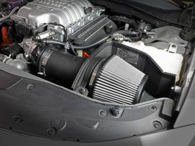 AFE Power - AFE Momentum Magnum Force Stage-2 Pro Dry S Cold Air Intake: Dodge Challenger / Charger Hellcat 6.2L 2017 - 2021 - Image 9