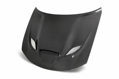 Dodge Charger Carbon Fiber Parts - Dodge Charger Carbon Fiber Hood - Anderson Composites - Anderson Composites OE Hellcat Carbon Fiber Hood: Dodge Charger 2015 - 2021 (All Models)