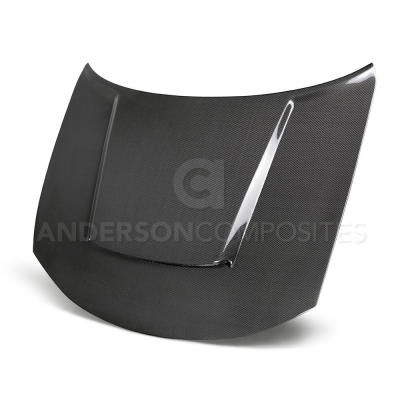 Dodge Charger Exterior Parts - Dodge Charger Hood - Anderson Composites - Anderson Composites Demon Carbon Fiber Hood: Dodge Charger 2015 - 2021 (All Models)