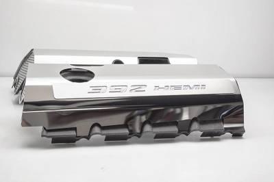 "American Car Craft - American Car Craft ""392"" Polished Fuel Rail Covers (CARBON FIBER): Dodge / Chrysler / Jeep 6.4L 392 2011 - 2021 - Image 13"