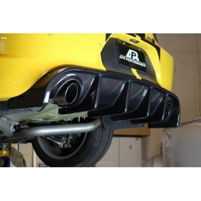 APR - APR Carbon Fiber Rear Diffuser: Dodge Charger Hellcat 2015 - 2021 (Excluding SXT and Widebody) - Image 3
