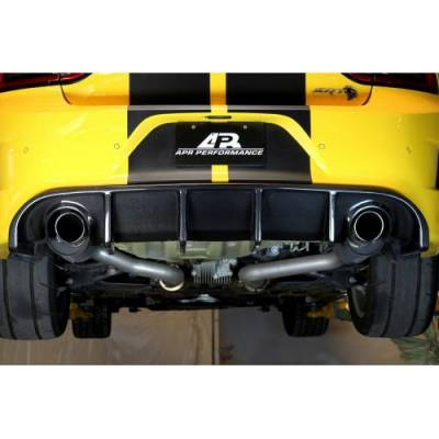 APR - APR Carbon Fiber Rear Diffuser: Dodge Charger Hellcat 2015 - 2021 (Excluding SXT and Widebody) - Image 4