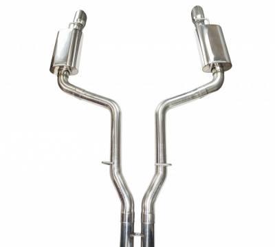 "Kooks - Kooks Competition Exhaust System: 300C / Charger / Magnum RWD 2005 - 2010 (MUST be used with 3"" Kooks Mid Pipes) - Image 2"