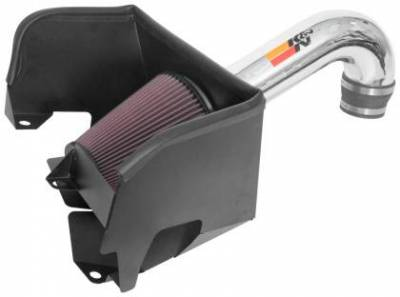 Dodge Ram Engine Performance - Dodge Ram Air Intake & Filters - K&N Filters - K&N 77 Series Cold Air Intake: Dodge Ram 5.7L Hemi 1500 2019 - 2021