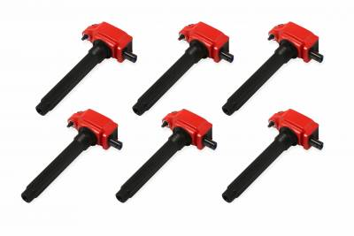 MSD Ignition - MSD Blaster HVC Ignition Coils (6-Pack): Chrysler / Dodge / Jeep 3.6L V6 2011 - 2016