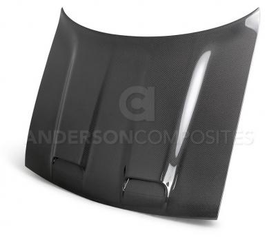 Anderson Composites Hellcat Redeye Carbon Fiber Hood: Dodge Challenger 2008 - 2021