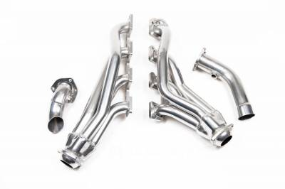 5.7L / 6.1L / 6.4L Hemi Engine Parts - Hemi Headers & Mid Pipes - Flowtech - Flowtech Shorty Headers (Ceramic Coated): Dodge Ram 5.7L Hemi 1500 2004 - 2005