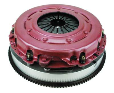 Dodge Challenger Transmission Parts - Dodge Challenger Flywheels - RAM Clutches - Ram Clutches Force 10.5 Twin Disc Clutch Kit (Organic Disc): Dodge Challenger 2008 - 2021 (Fits ALL Hemi Models, Including Hellcat)