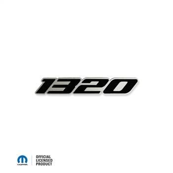 HEMI EXTERIOR PARTS - Hemi Emblems - American Brother Designs - American Brother Designs 1320 Exterior Badge: Chrysler / Dodge / Jeep Vehicles