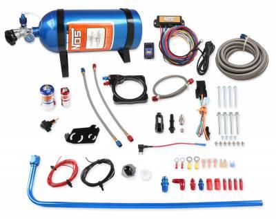 5.7L / 6.1L / 6.4L Hemi Engine Parts - Hemi Nitrous System - NOS - NOS Plate Wet Nitrous Kit (Blue Bottle): 300 / Charger / Magnum 5.7L Hemi 2005 - 2008