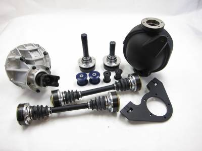 Dodge Challenger Transmission Parts - Dodge Challenger Driveshaft - Driveshaft Shop - Driveshaft Shop 9-Inch Direct Bolt-in Rear Conversion Kit: Dodge Challenger 6.4L 392 & 6.2L SRT Hellcat w/ Automatic Transmission 2015 - 2021