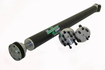 "Dodge Challenger Transmission Parts - Dodge Challenger Driveshaft - Driveshaft Shop - Driveshaft Shop 1-Piece 3.25"" Carbon Fiber Driveshaft: Dodge Challenger 5.7L Hemi / 6.1L SRT8 / 6.4L 392 2009 - 2014 (w/ Automatic 3-Bolt Transmission)"