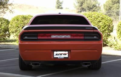 HEMI LIGHTING PARTS - Hemi Blackout Covers - GT Styling - GT Styling Smoke Tail Light Covers: Dodge Challenger 2008 - 2014
