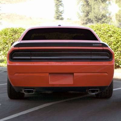 GT Styling - GT Styling Smoke Tail Light Covers: Dodge Challenger 2008 - 2014 - Image 3