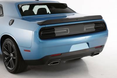 HEMI LIGHTING PARTS - Hemi Blackout Covers - GT Styling - GT Styling Smoke Tail Light Covers: Dodge Challenger 2015 - 2021