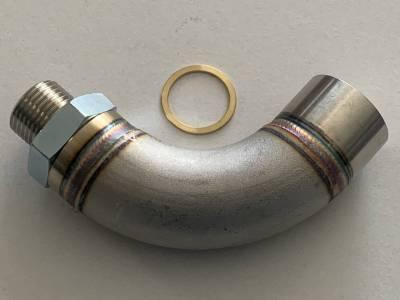 Vibrant - Vibrant O2 Sensor Restrictor Fitting (90-DEGREE) w/ Adjustable Jets (CEL Eliminator) - Image 2