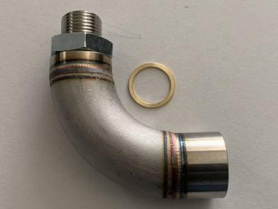 Vibrant - Vibrant O2 Sensor Restrictor Fitting (90-DEGREE) w/ Adjustable Jets (CEL Eliminator) - Image 3