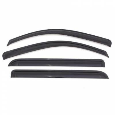 AVS - AVS Window Visors (Smoke, In-Channel): Chrysler 300 / 300C 2005 - 2010